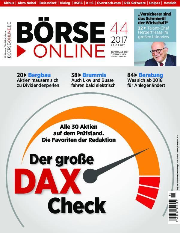 Börse Online - 02. November 2017