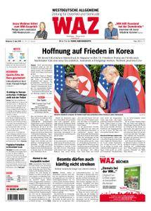 WAZ Westdeutsche Allgemeine Zeitung Oberhausen-Sterkrade - 13. Juni 2018