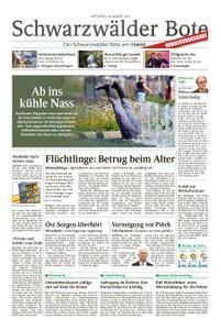 Schwarzwälder Bote St. Georgen, Triberg, Furtwangen - 28. August 2019