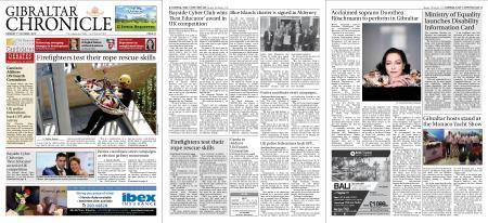 Gibraltar Chronicle – 07 October 2019