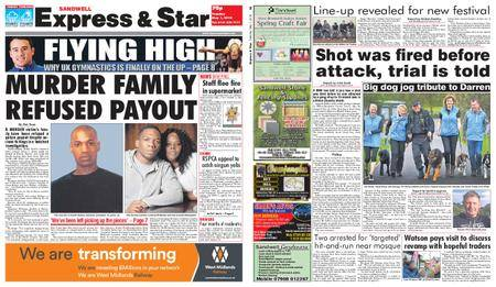 Express and Star Sandwell Edition – May 01, 2018