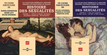 """Collectif, """"Histoire des sexualités"""", vol. 1 & 2"""