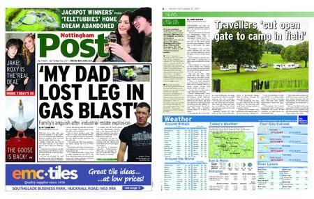 Nottingham Post – September 22, 2017