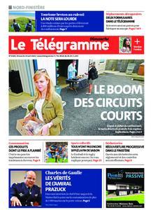 Le Télégramme Brest Abers Iroise – 19 avril 2020
