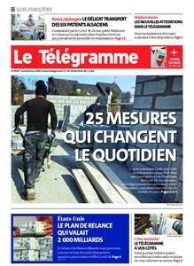 Le Télégramme Ouest Cornouaille – 26 mars 2020