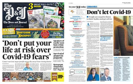 The Press and Journal Moray – July 25, 2020