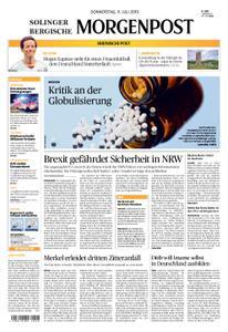 Solinger Morgenpost – 11. Juli 2019