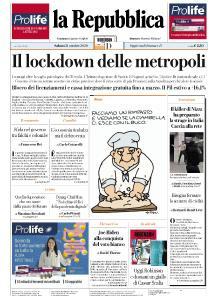 la Repubblica - 31 Ottobre 2020
