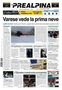 La Prealpina - 18 Novembre 2019