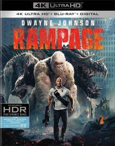 Rampage (2018) [4K, Ultra HD]