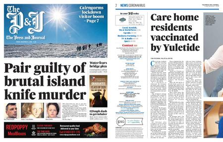 The Press and Journal Moray – December 04, 2020