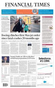 Financial Times Europe - December 4, 2020