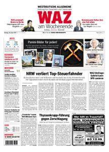 WAZ Westdeutsche Allgemeine Zeitung Oberhausen-Sterkrade - 20. Januar 2018
