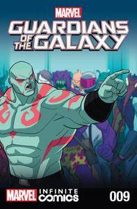 Marvel Universe Guardians of the Galaxy Infinite Comic 009 2016 Digital