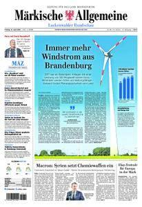 Märkische Allgemeine Luckenwalder Rundschau - 13. April 2018