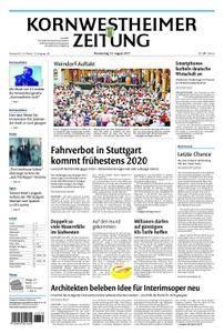 Kornwestheimer Zeitung - 31. August 2017