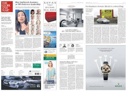 The Globe and Mail – March 01, 2018