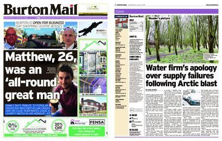 Burton Mail – June 20, 2018