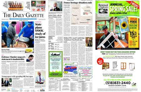 The Daily Gazette – March 24, 2018