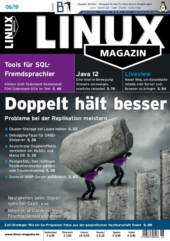 Linux Magazin – Mai 2019