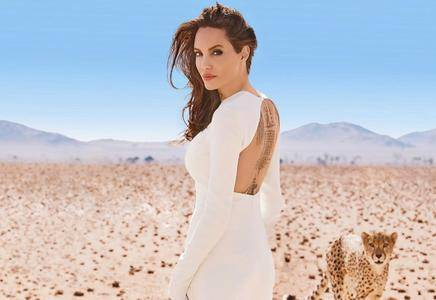 Angelina Jolie by Alexi Lubomirski for Harper's Bazaar November 2017