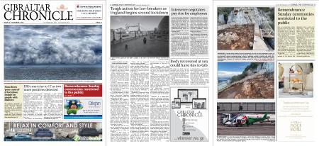 Gibraltar Chronicle – 06 November 2020