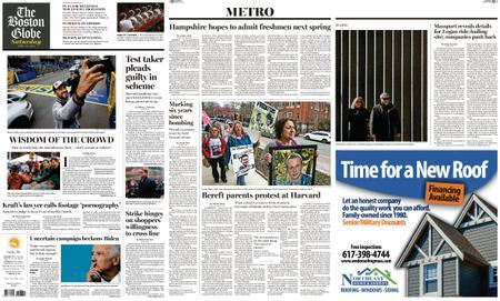 The Boston Globe – April 13, 2019