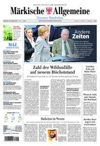 Märkische Allgemeine Zossener Rundschau - 25. Oktober 2017
