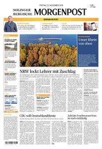 Solinger Morgenpost – 22. November 2019