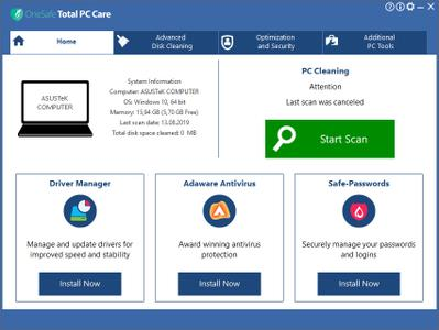 OneSafe Total PC Care 6.9.6.8
