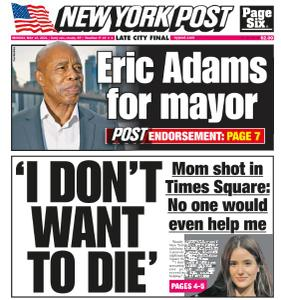 New York Post - May 10, 2021