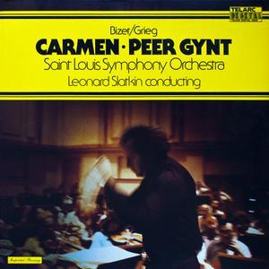 Leonard Slatkin, Saint Louis Symphony Orchestra - Georges Bizet / Edvard Grieg: Carmen - Peer Gynt (1979) [Vinyl Rip 24/96]