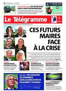 Le Télégramme Auray – 16 mai 2020