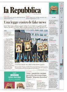 la Repubblica - 27 Novembre 2017