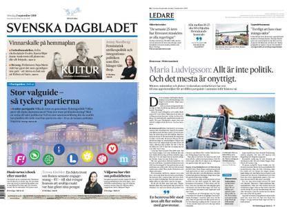 Svenska Dagbladet – 02 september 2018