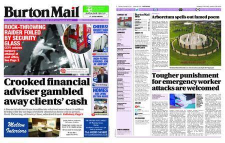 Burton Mail – October 26, 2017