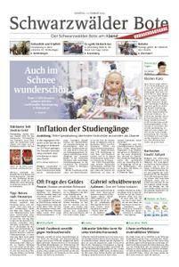Schwarzwälder Bote Oberndorf - 13. Februar 2018