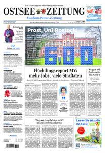 Ostsee Zeitung Wolgast - 29. März 2019