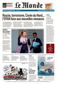 Le Monde du Jeudi 15 Février 2018
