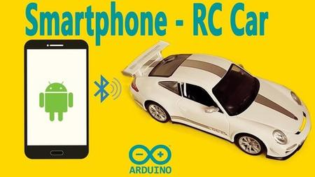 Arduino controlled by mobile (Rc bluetooth car)