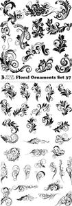 Vectors - Floral Ornaments Set 37