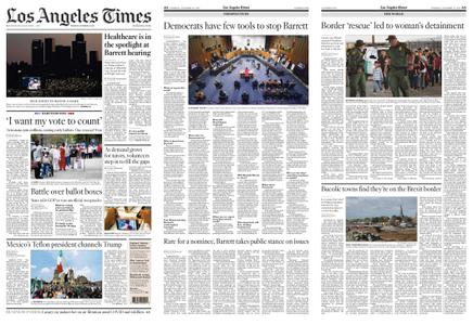 Los Angeles Times – October 13, 2020
