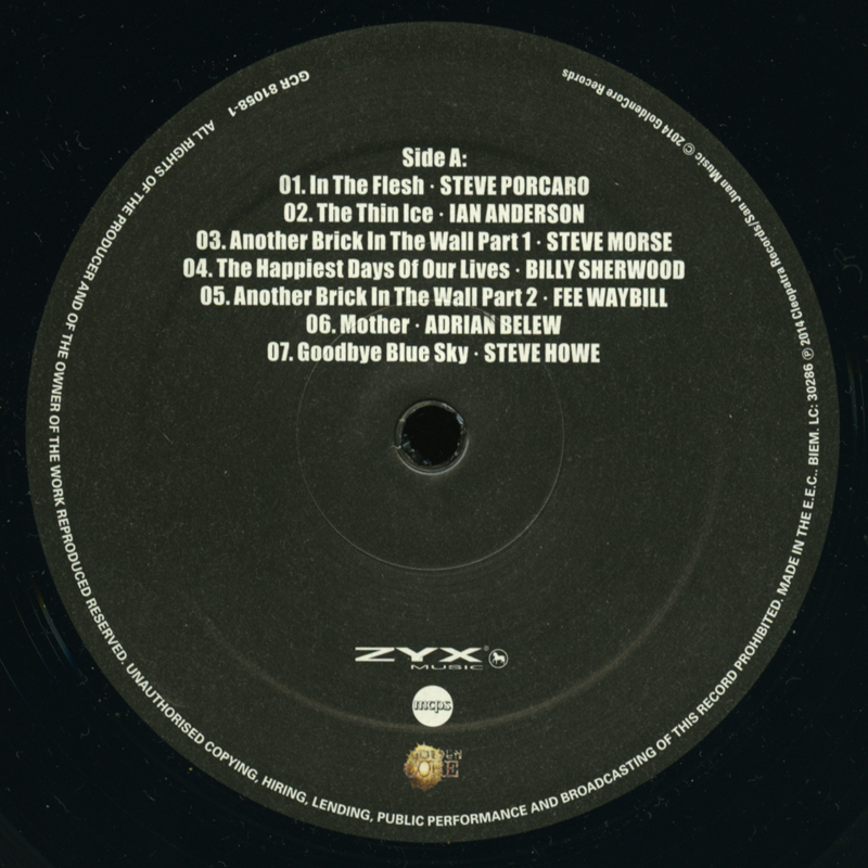 Back Against The Wall (A Tribute To Pink Floyd) (2005) [2LP