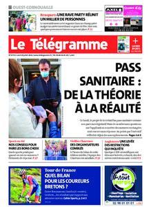 Le Télégramme Ouest Cornouaille – 19 juillet 2021