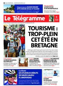 Le Télégramme Ouest Cornouaille – 13 septembre 2020