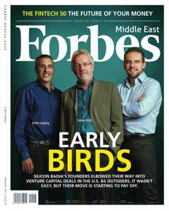 Forbes Middle East English Edition - January 2017