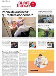 Ouest-France Édition France – 10 janvier 2020