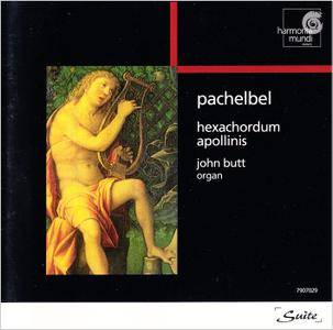 John Butt - Johann Pachelbel: Hexachordum Apollinis; Chaconnes in D and in F (1990) Reissue 1997 [Re-Up]