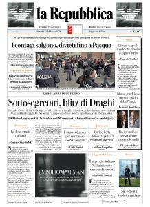 la Repubblica - 25 Febbraio 2021