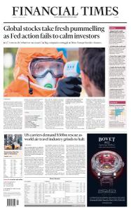 Financial Times Europe - March 17, 2020